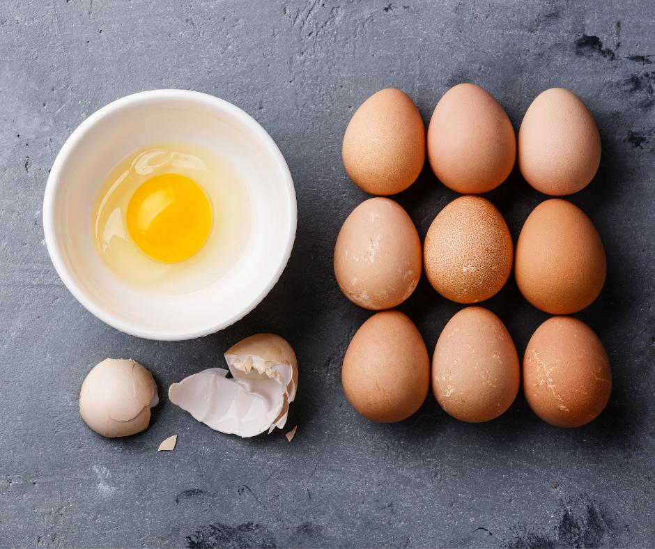 Eggs are back on the menu !