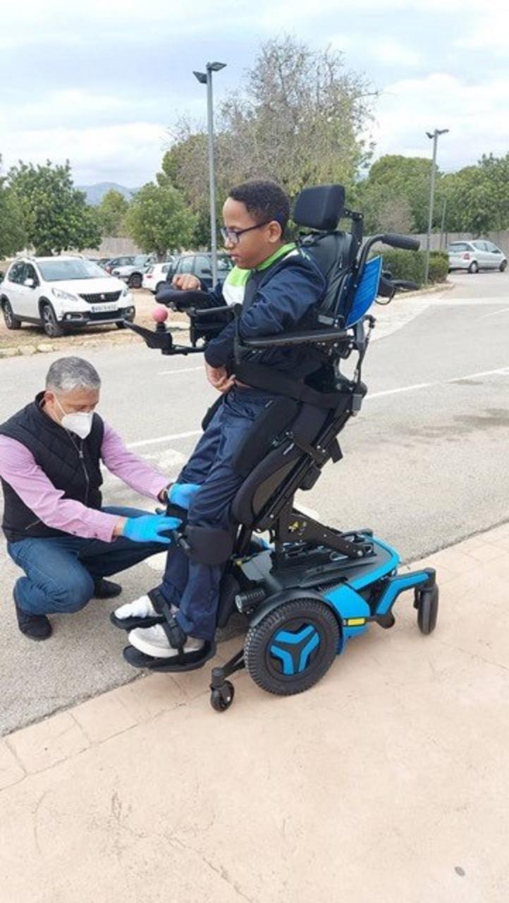 Emy's Wheelchair
