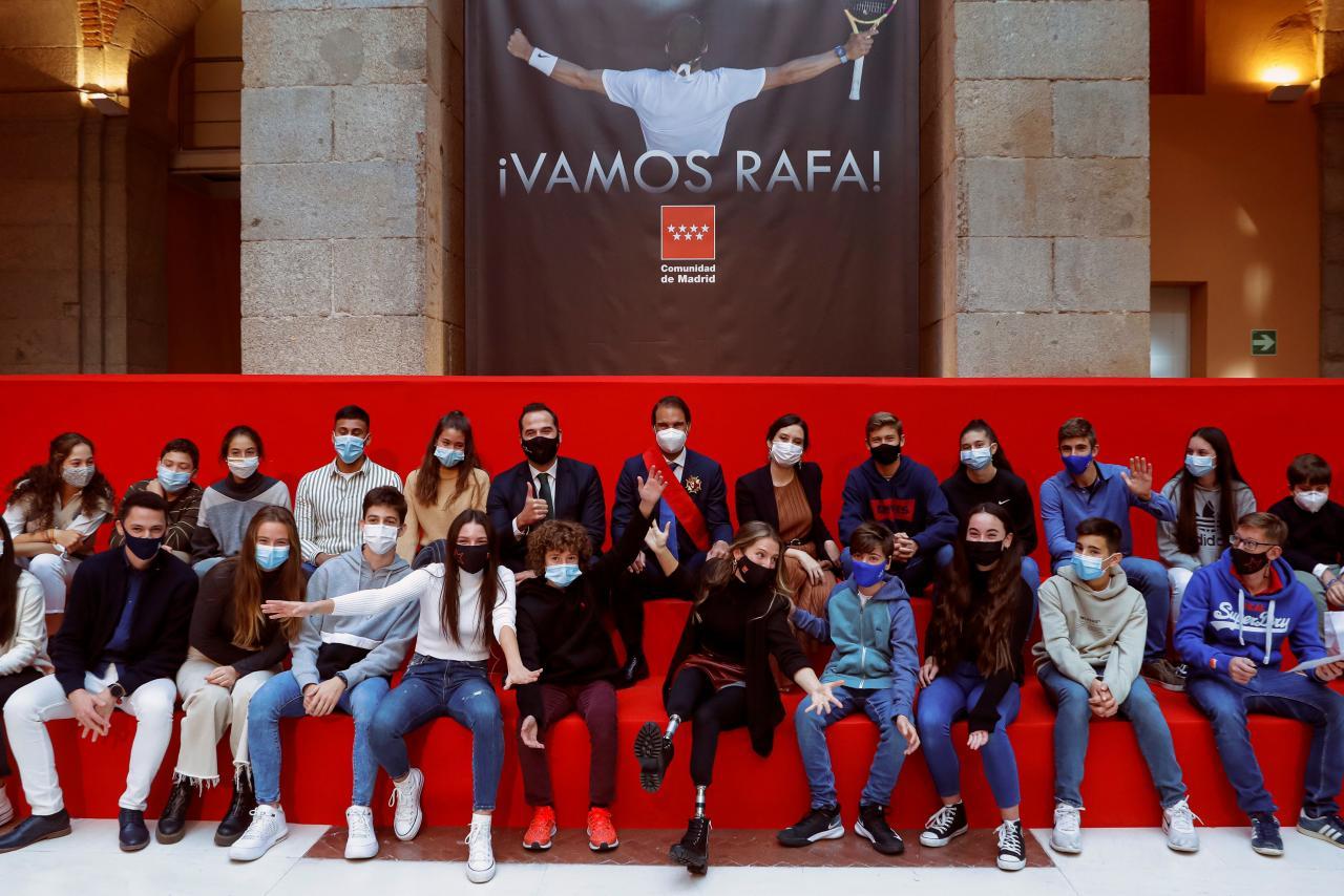 Rafael Nadal recibe la Gran Cruz de la Orden del Dos de Mayo
