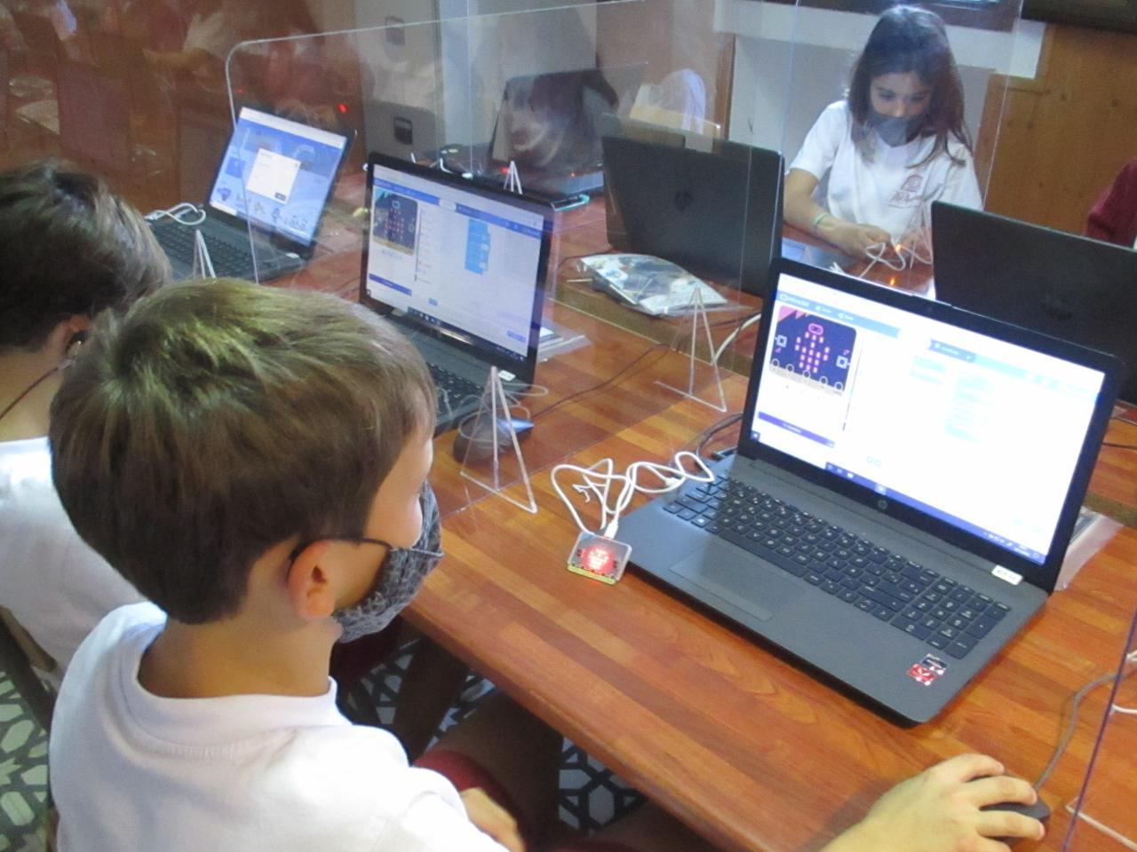 ICT Class Junior 1 at The Academy Junior School