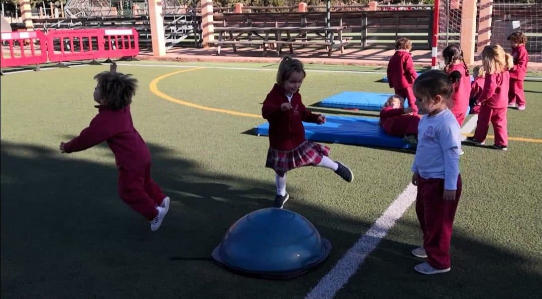 Sports class at The Academy Junior School