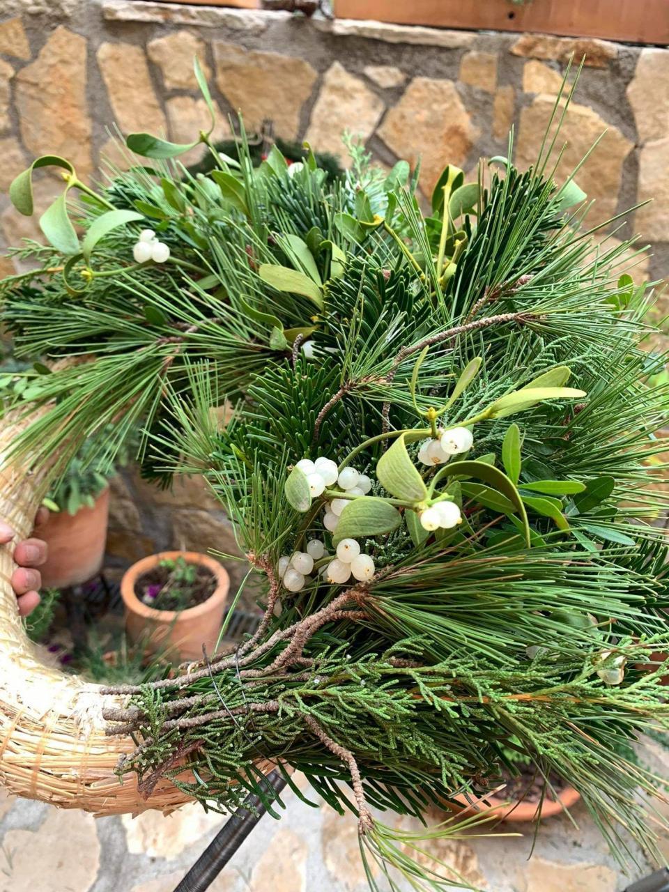 Half Door Wreath