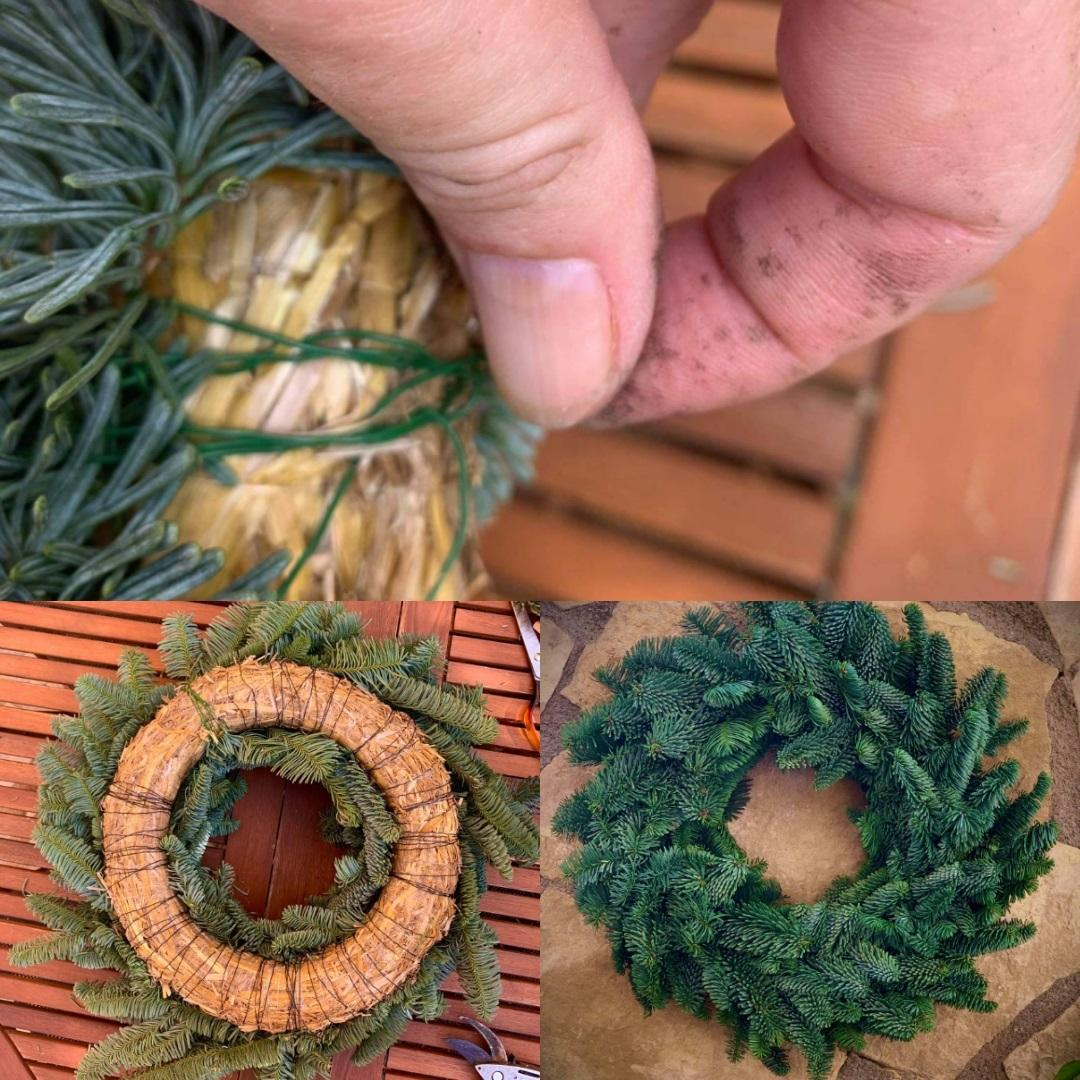 Steps 8-9 Wreath Making