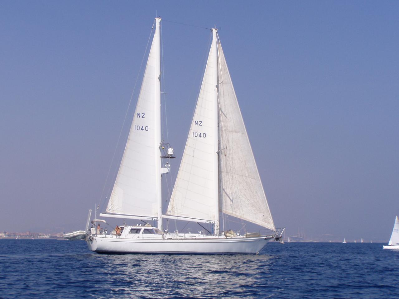 Sir Peter Blake's boat Archangel