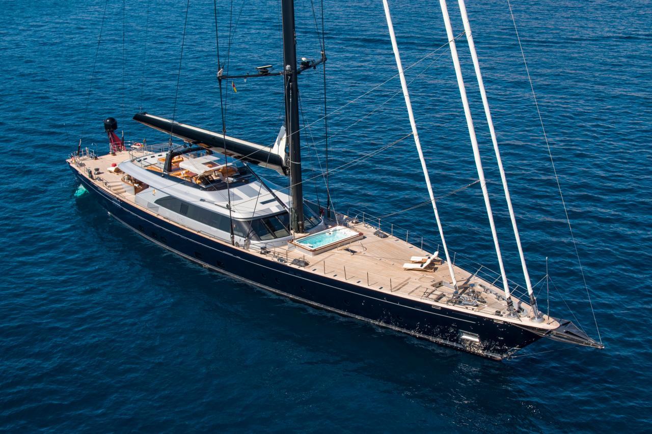 60m Perini Navi PERSEUS^3 sold by Tim Carbury in November