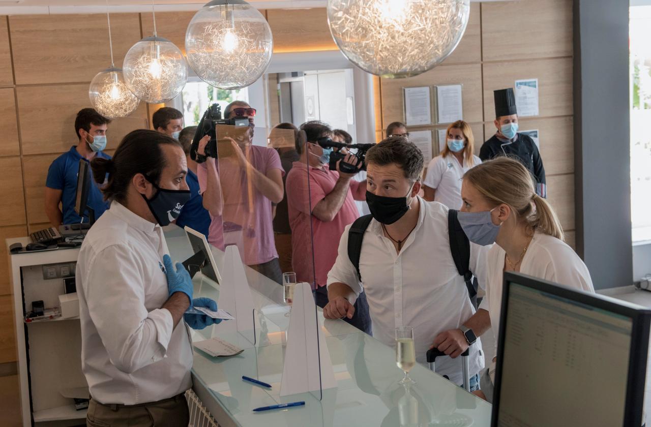 Pilot plan for German tourists during coronavirus