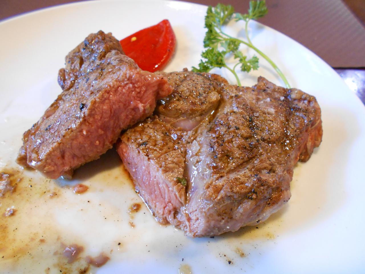 The Asador Gotxon's entrecôte steak scored 10