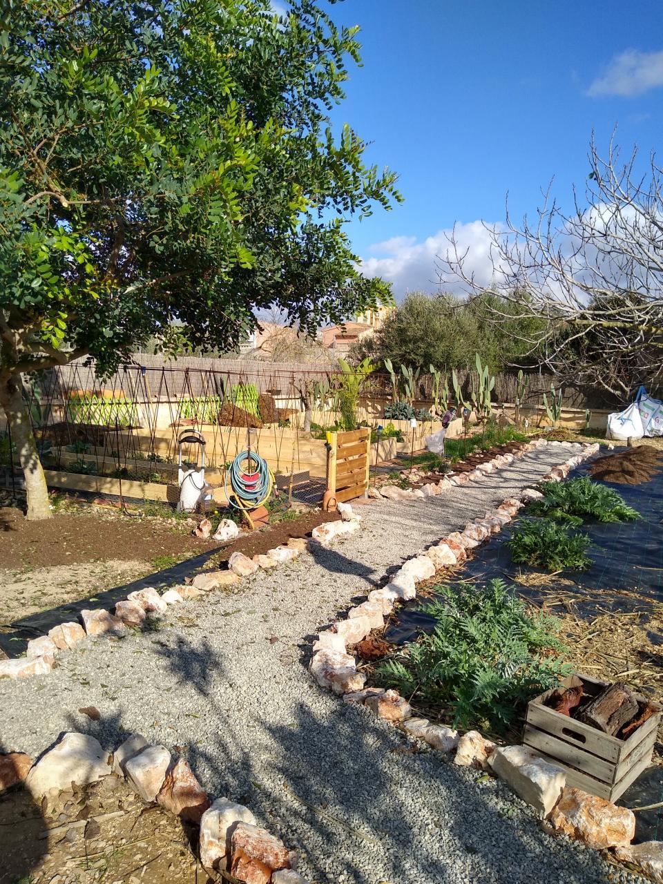 Pathways through the Garden