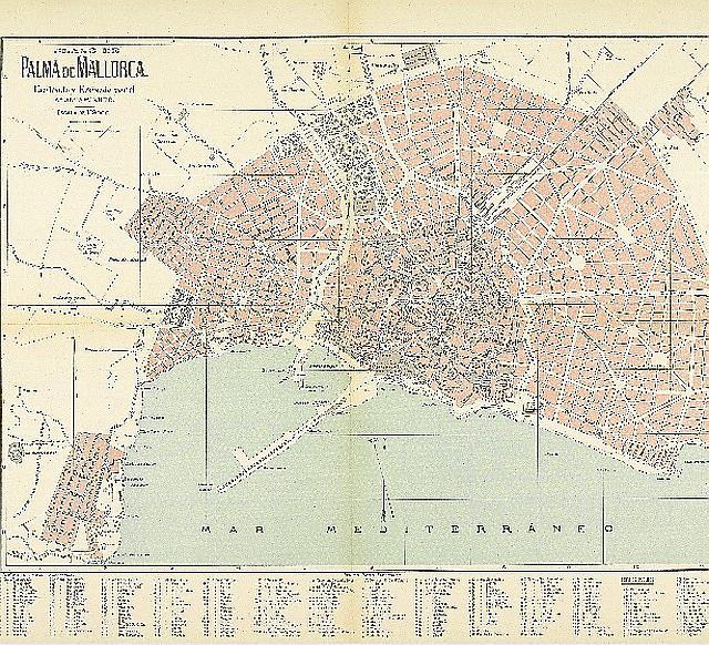 The map for the Plan Calvet
