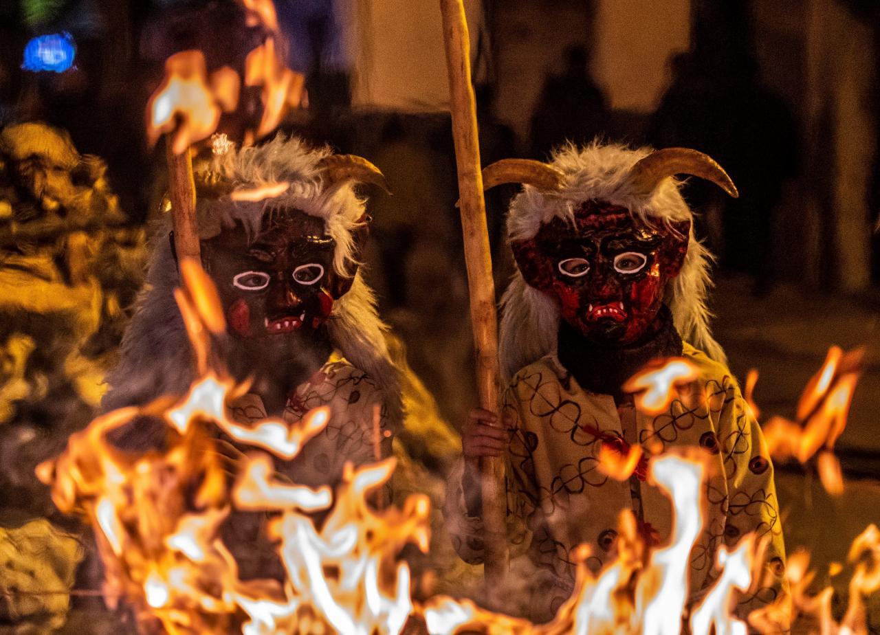 Sant Antoni festivities in Manacor