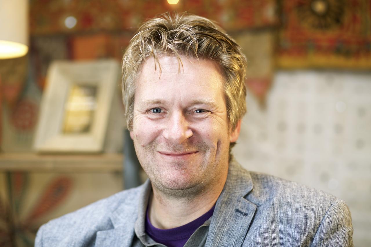 Writer Dan Sefton from The Mallorca Files