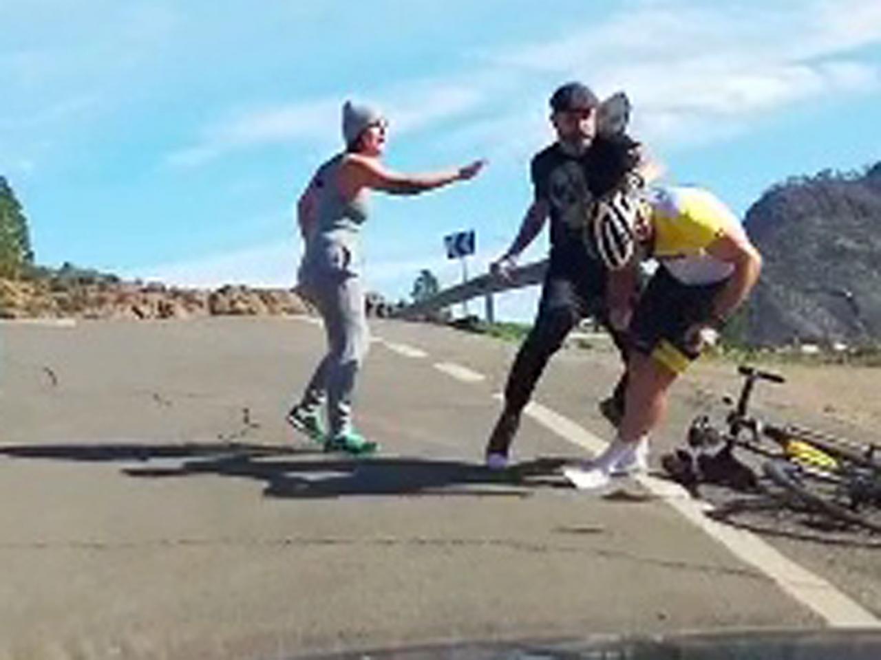 CANARIAS - AGRESIONES - El ciclista mallorquín Raúl Márquez sufre una brutal agresión en Canarias.