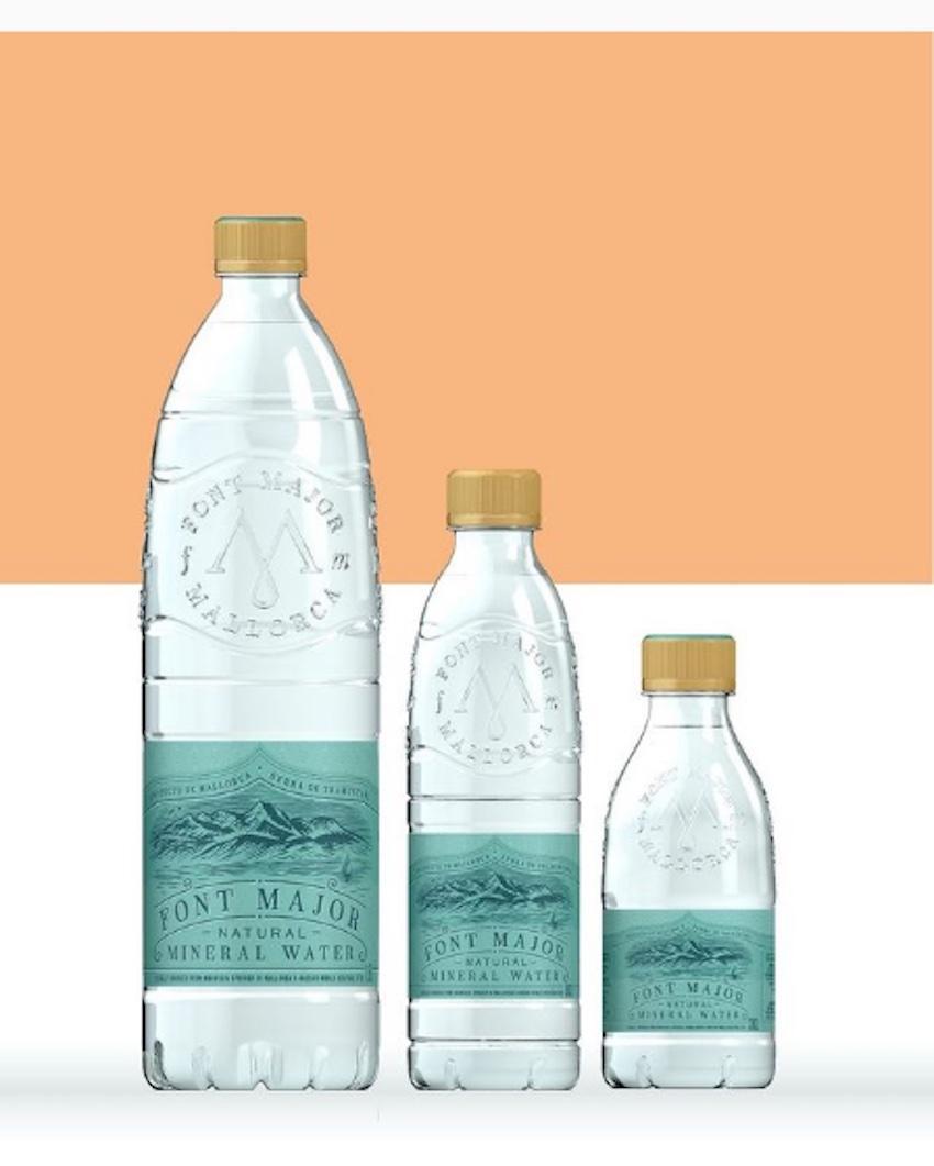 Font Major Natural Mineral Water.
