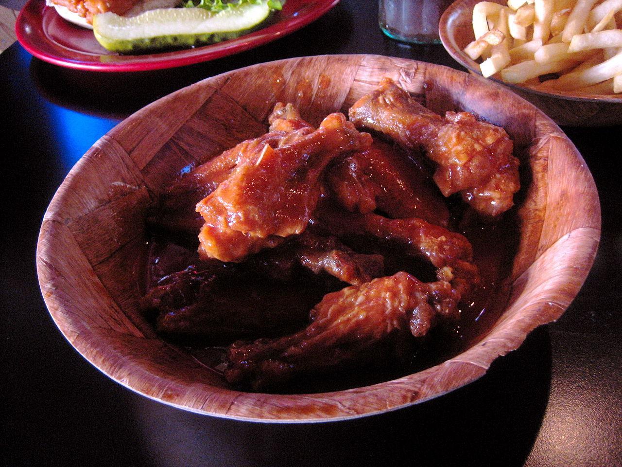 Duff's chicken wings