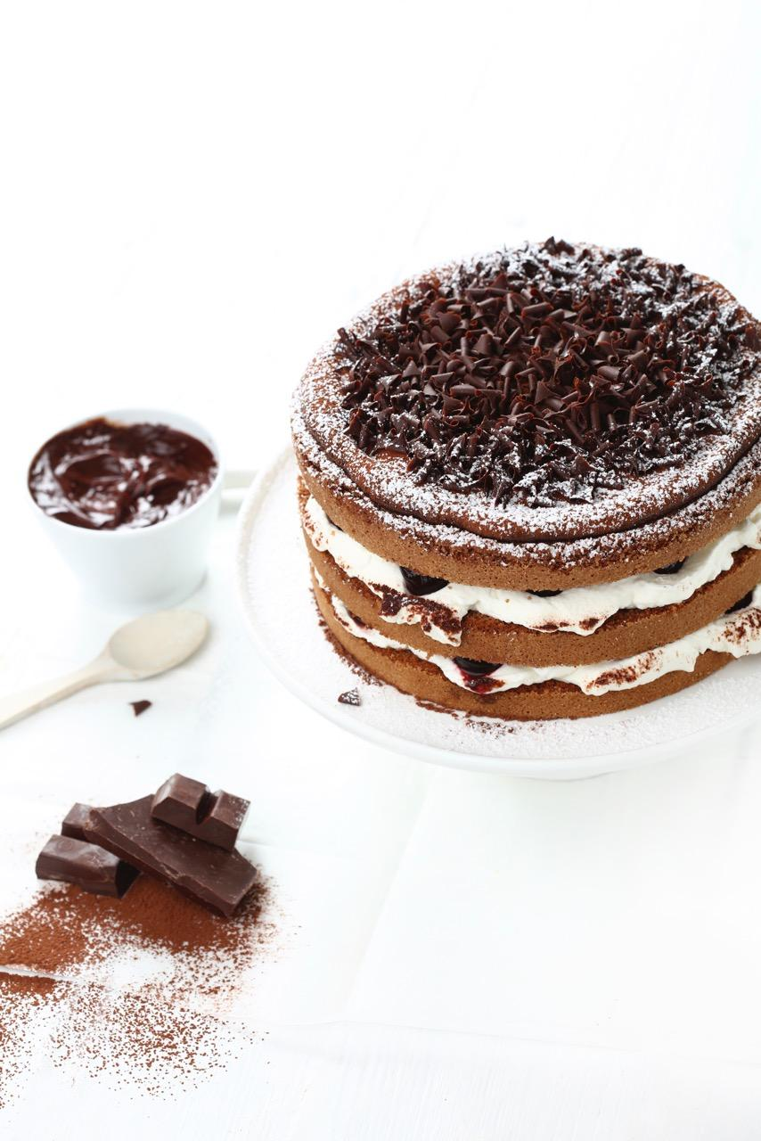 Marc Fosh Black forest cake