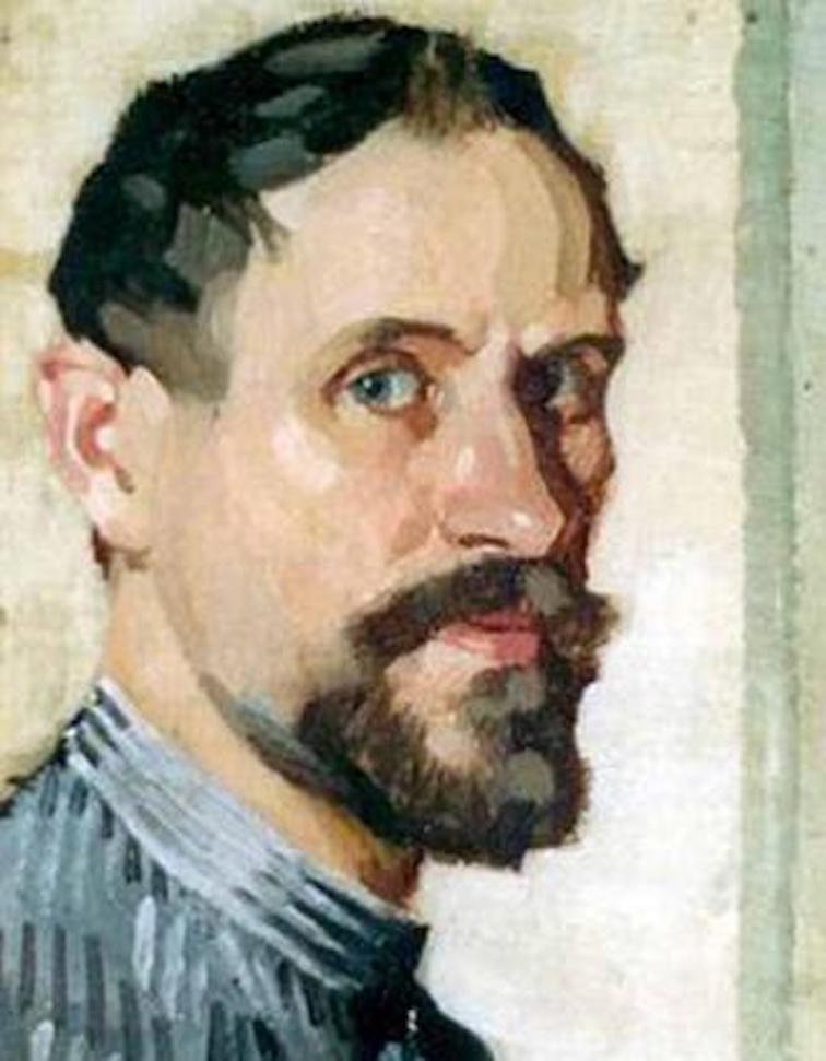Adolphe Valette self portrait.
