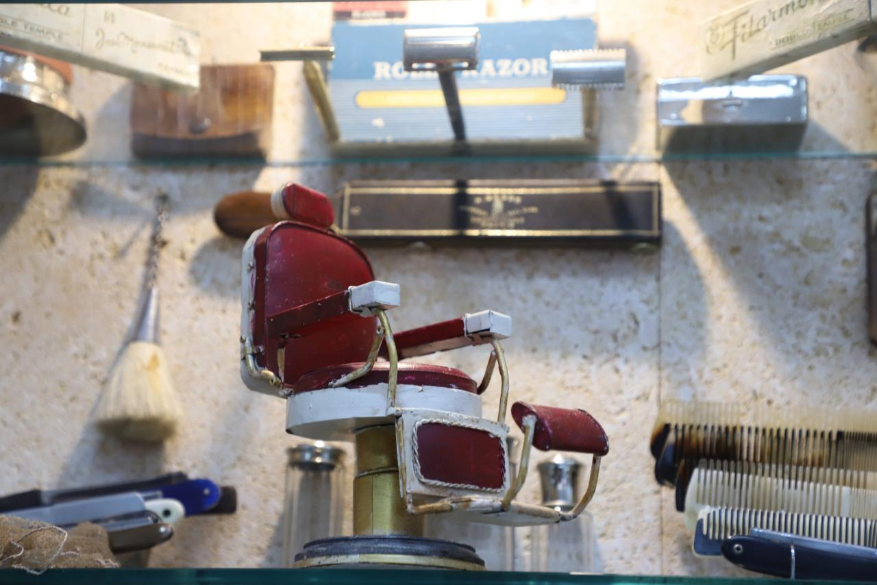 Pericás Barbershop Chair, Palma.