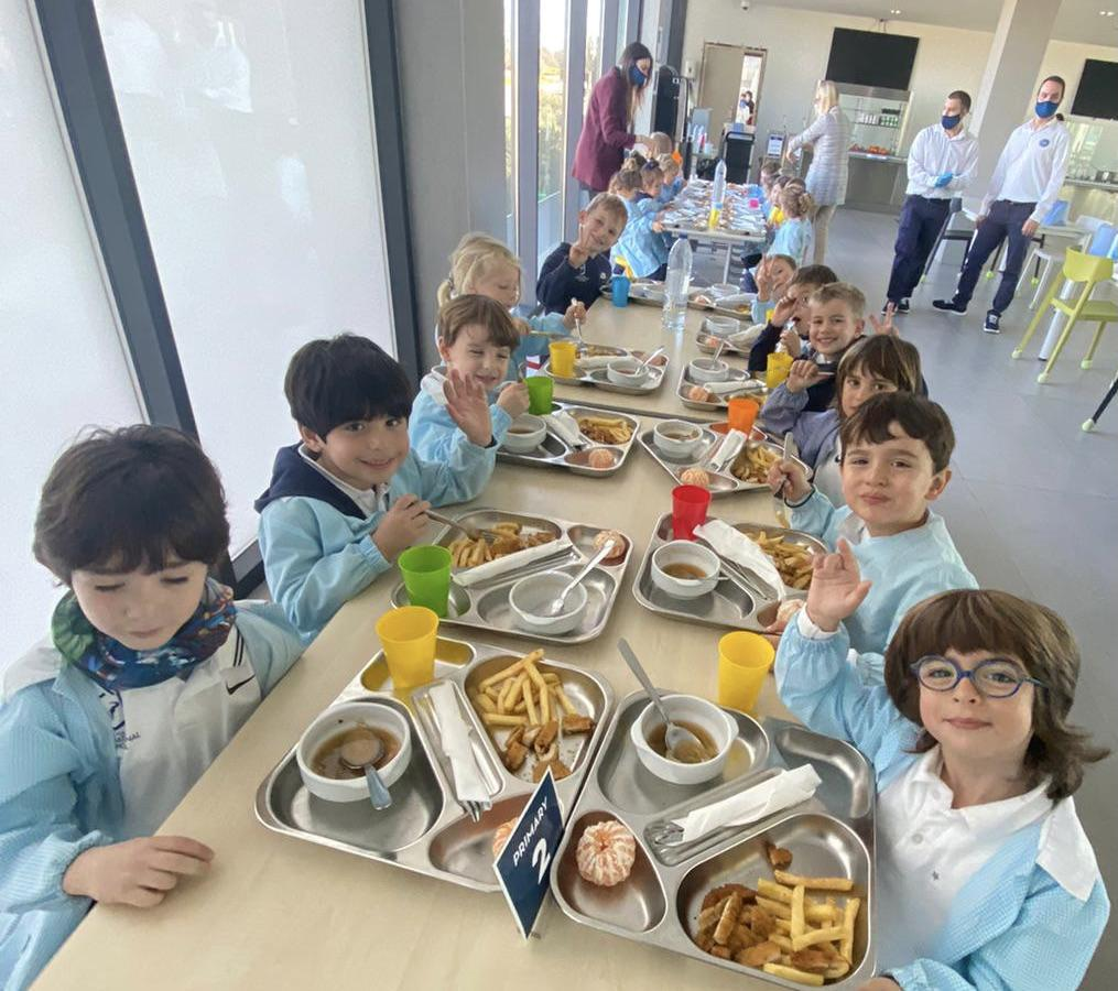 Rafa Nadal International School meals