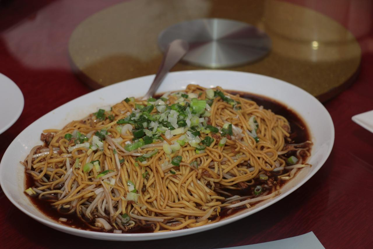 Chinese New Year's Eve noodles