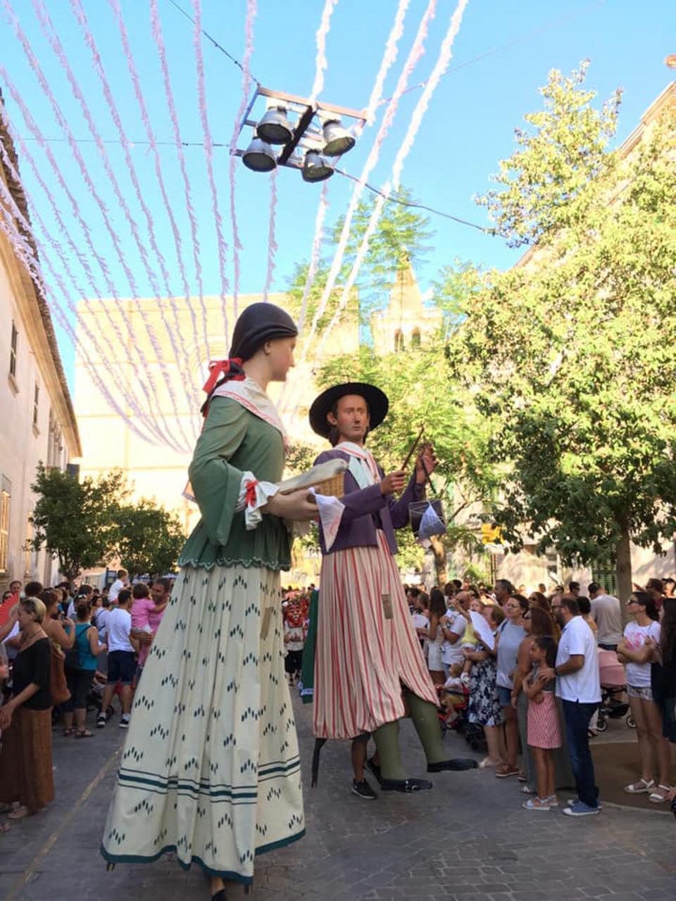 The Sant Roc fiestas in Porreres