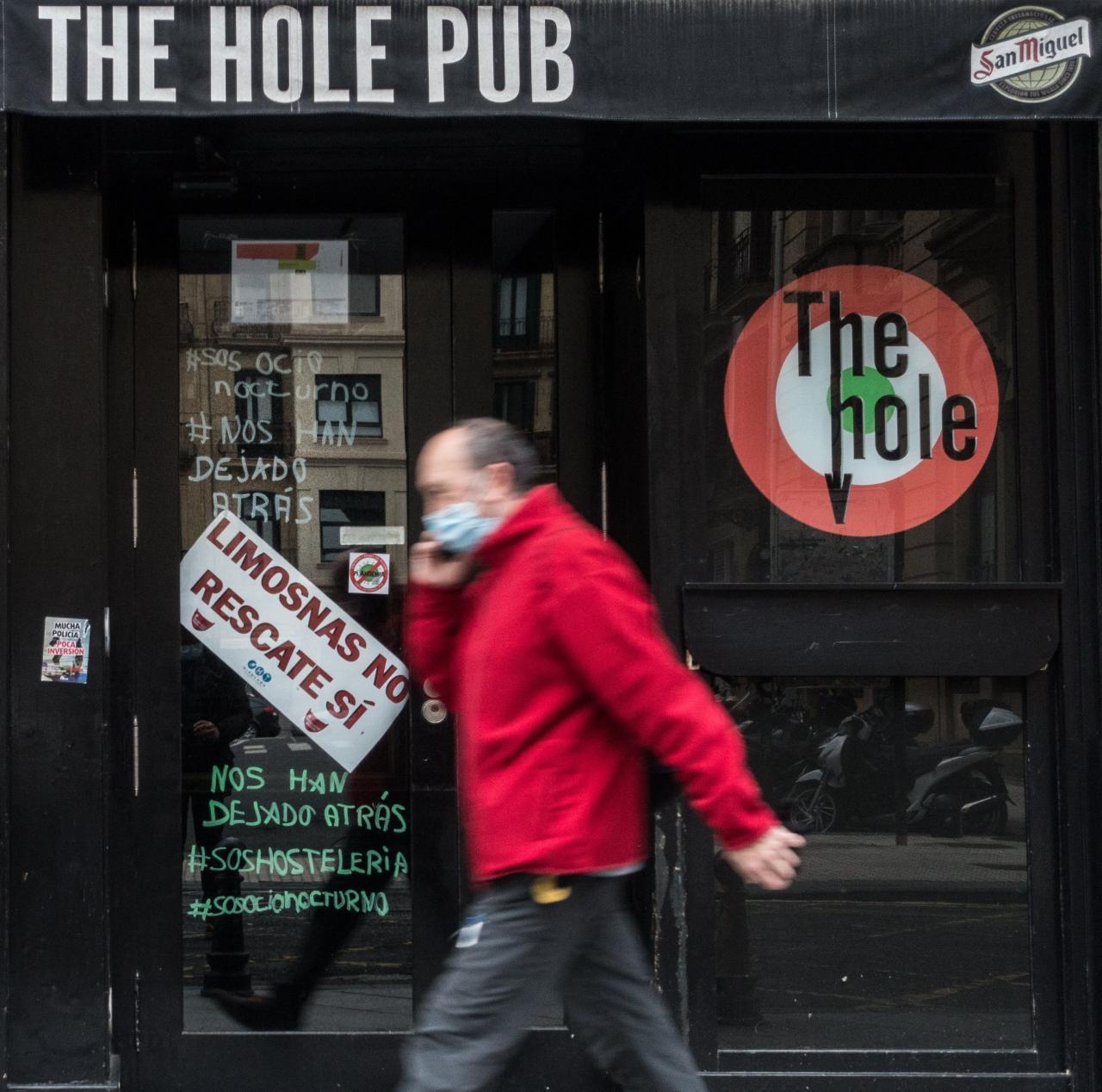La justicia vasca decide hoy sobre cierre de bares mientras protestan los hosteleros.