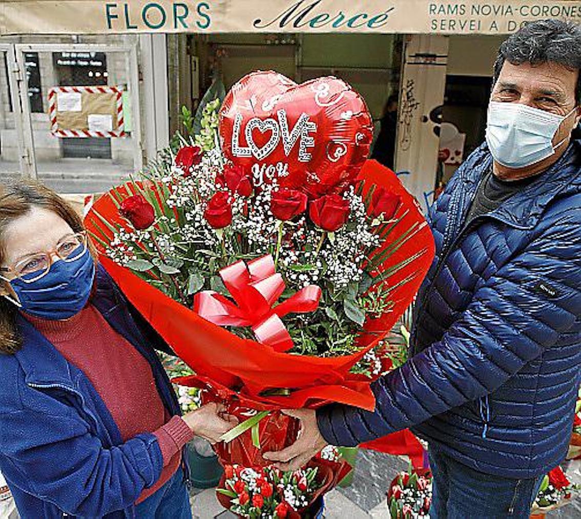 Valentine's Day Bouquet, Mercé Florist, Palma.