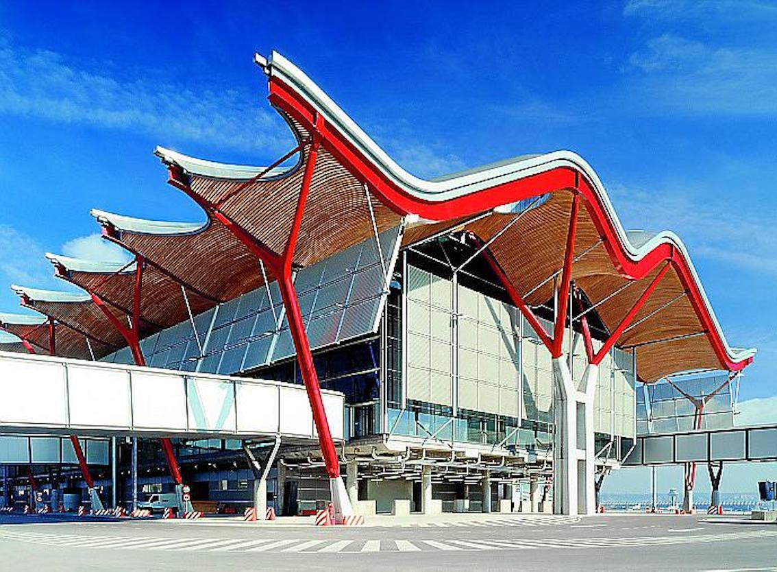Terminal 4, Madrid-Barajas Airport.