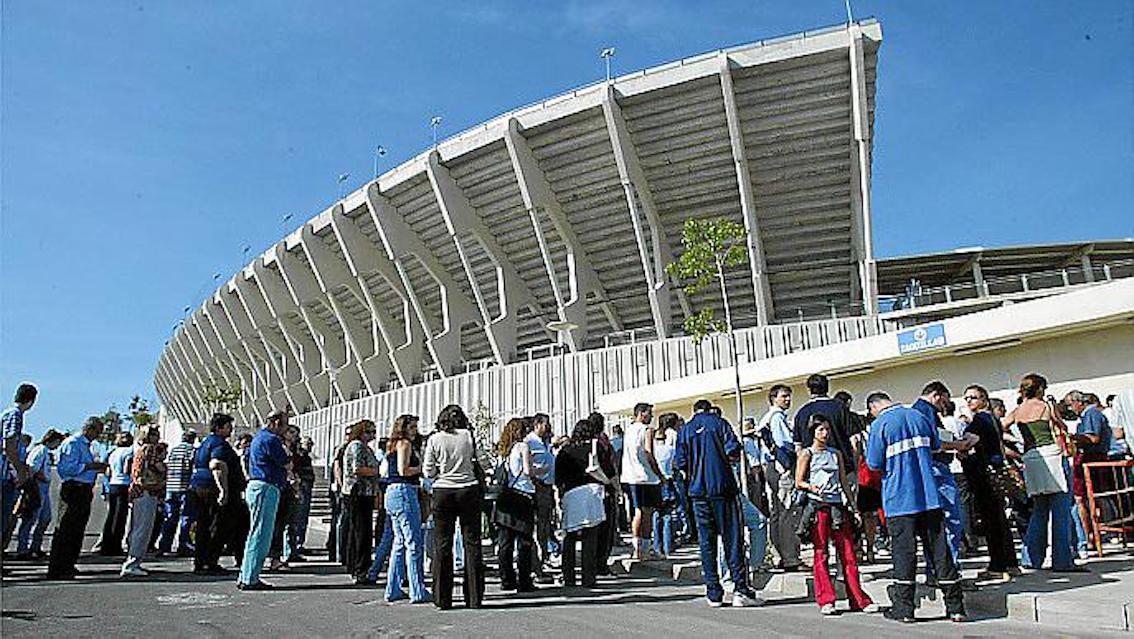 Son Moix Stadium, Palma.