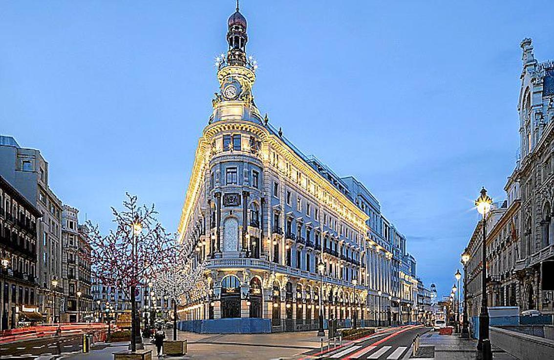 Four Seasons Hotel, Madrid.