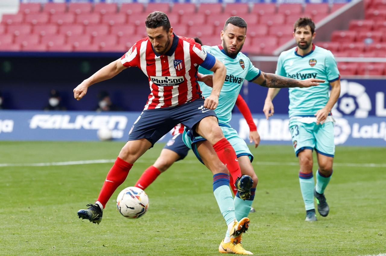 Atlético de Madrid vs Levante