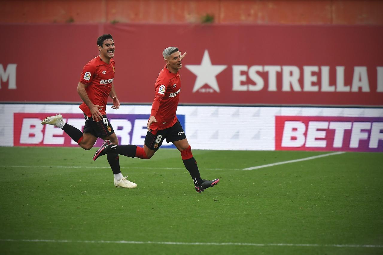 Mallorca's goal-scoring heroes Abdon Prats and Salva Sevilla