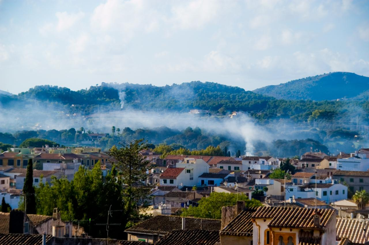 weekends are dominated by clouds of woodsmoke eerily rising from the valley