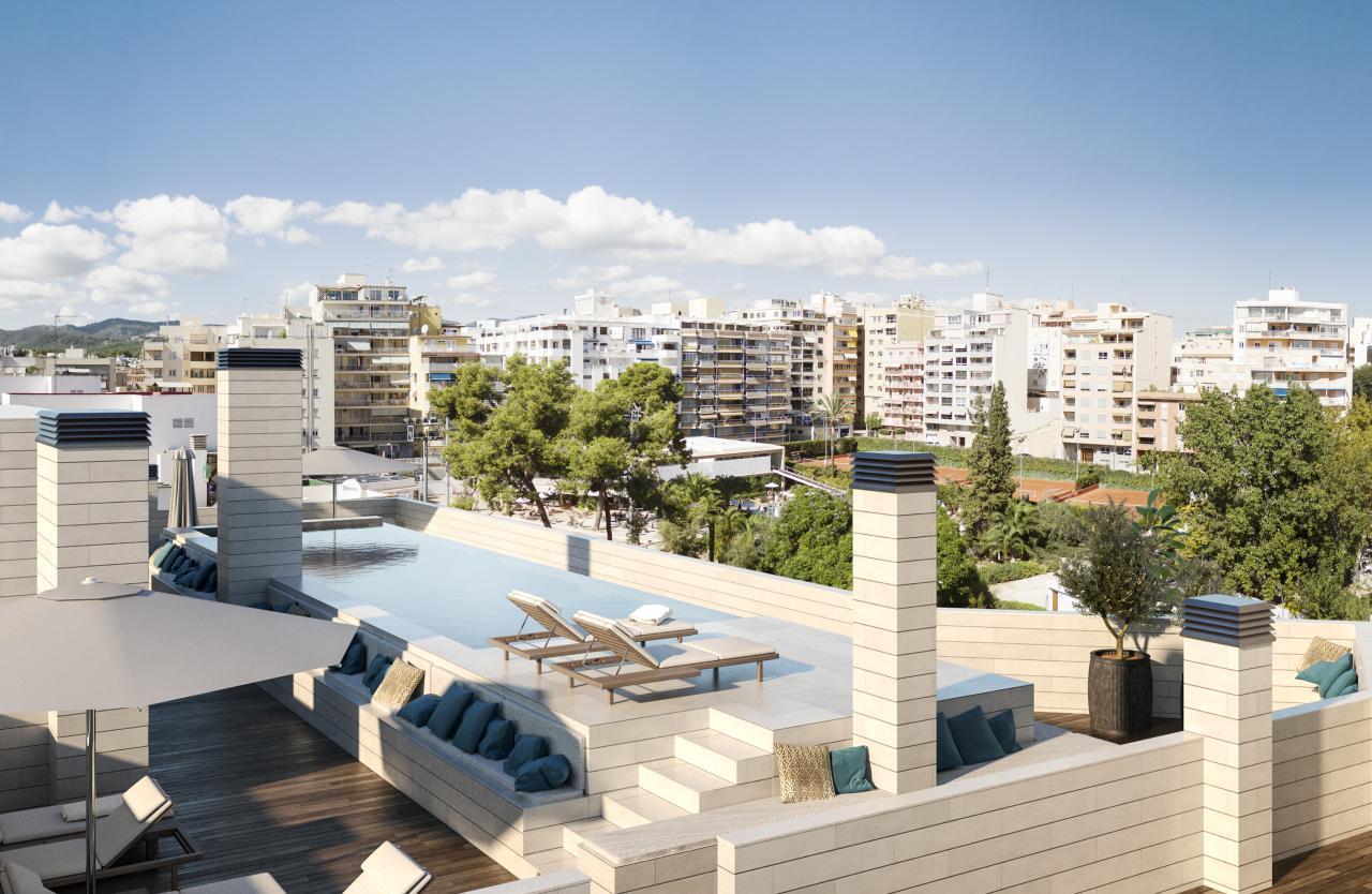 New development next to Palma tennis