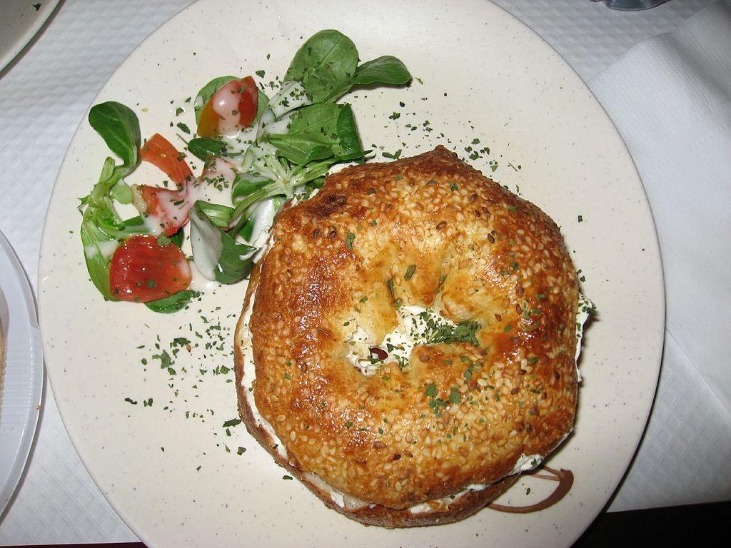 Delicious Bagel in the Jewish Quarter of the Marais, Paris