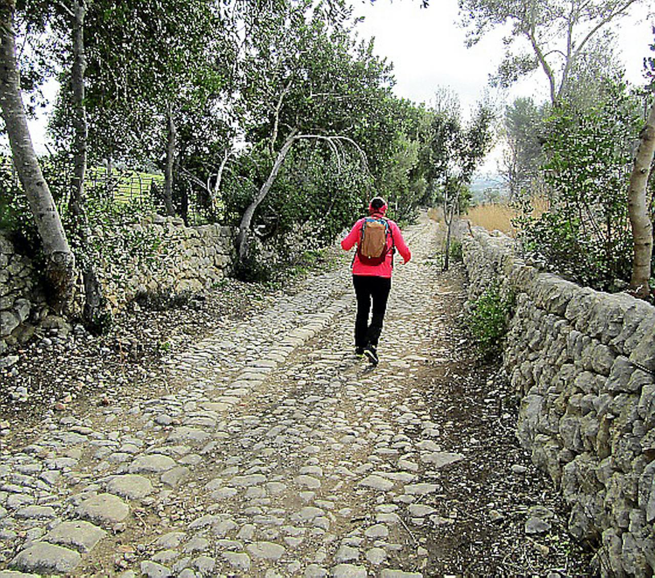 El Camí Romà, El Raigeur, Mallorca.