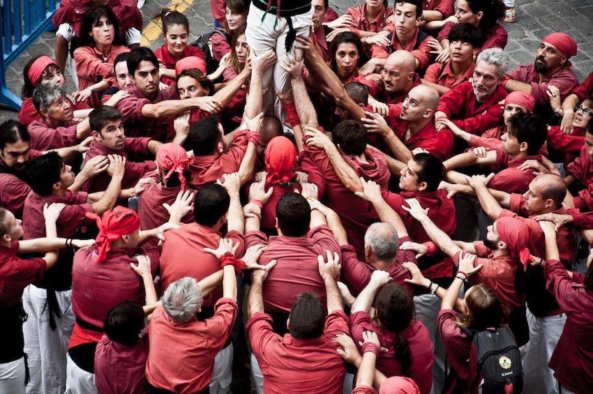 Los Castellers de Mallorca, Palma.