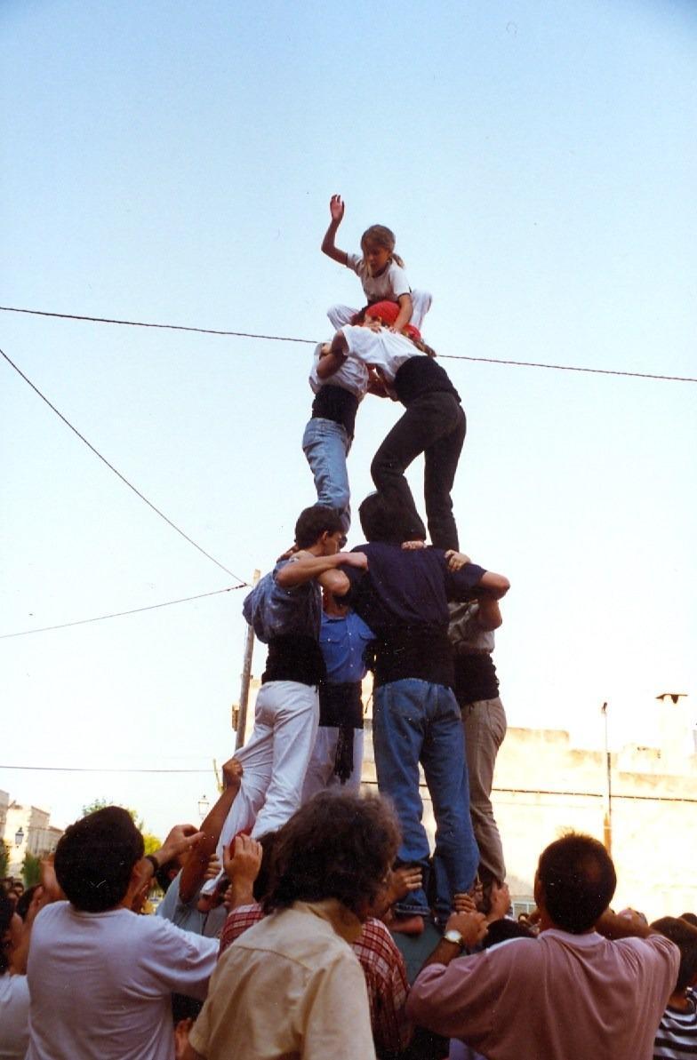 Castellers de Mallorca in Petra 1996