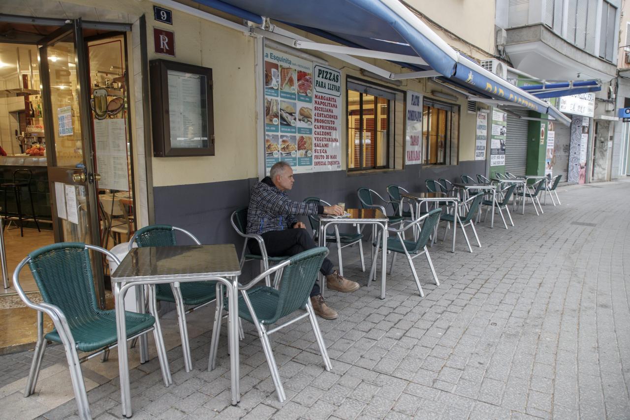 Palma reapertura bares tras las restricciones por covid coronavir