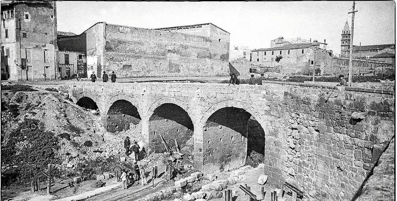 Puente de la Porta des Camp, Palma.
