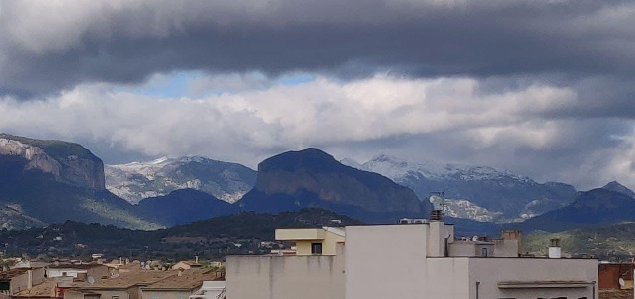 Snow on the Serra de Tramuntana