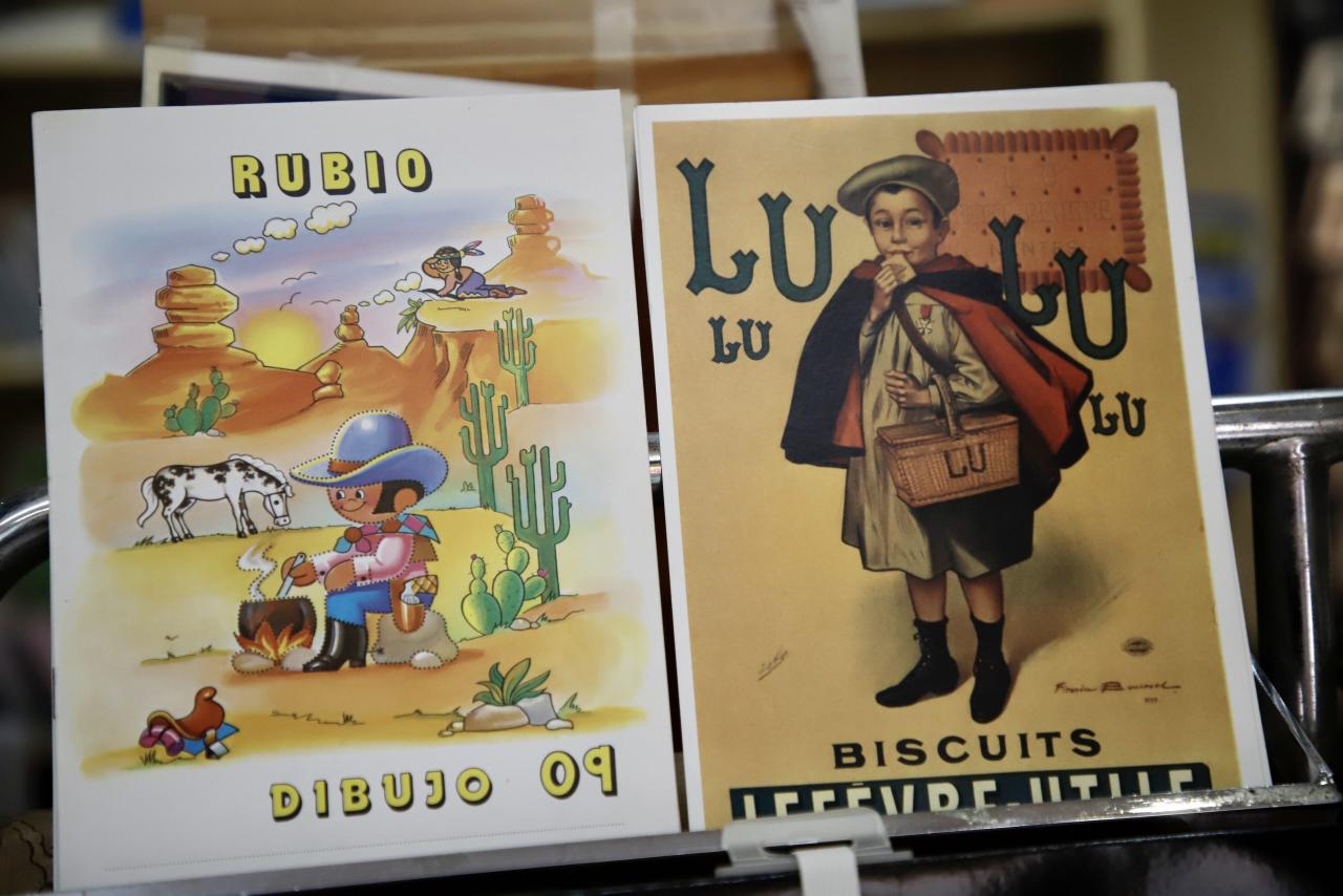 Rubio books at Minerva papelería, Palma