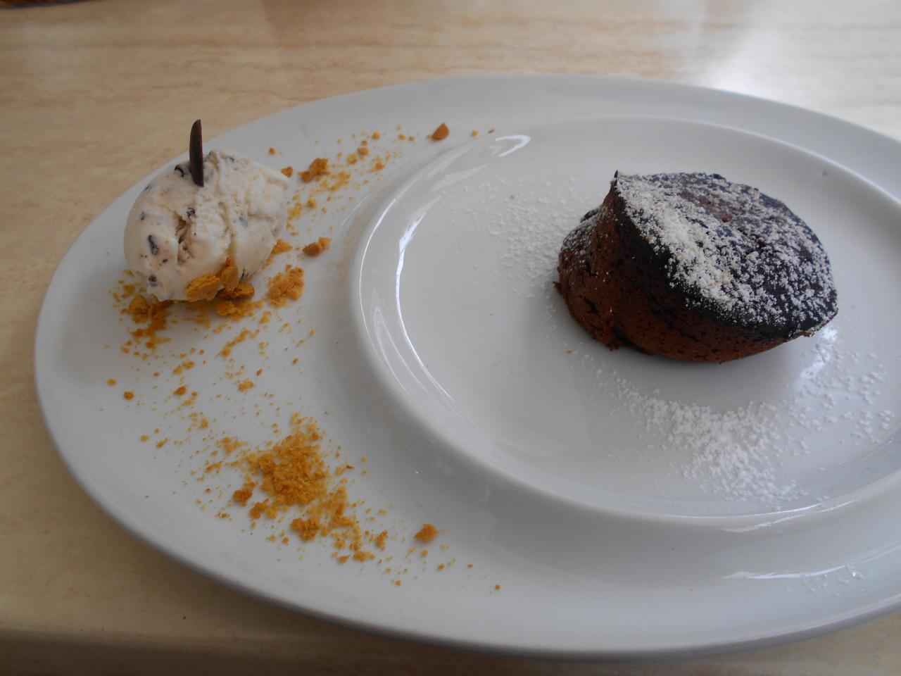 The coulant de chocolate