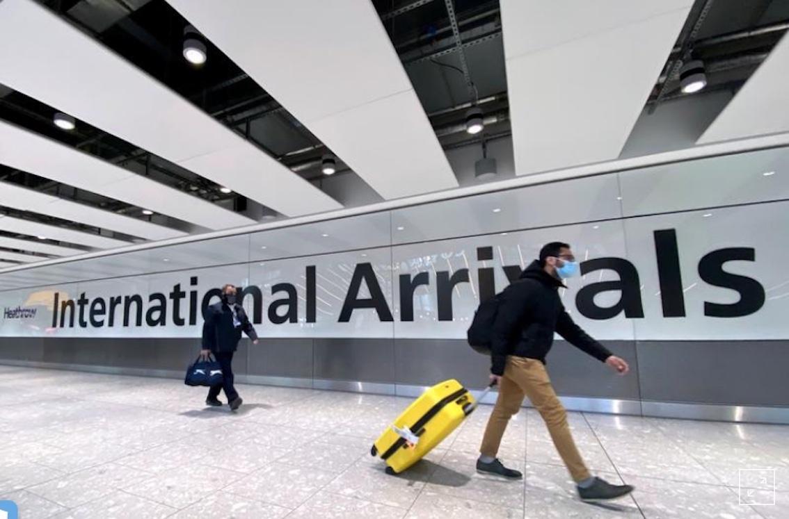 Aeroporto de Heathrow, Londres.