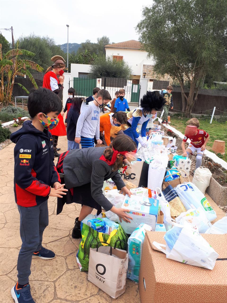 Mallorca international School students