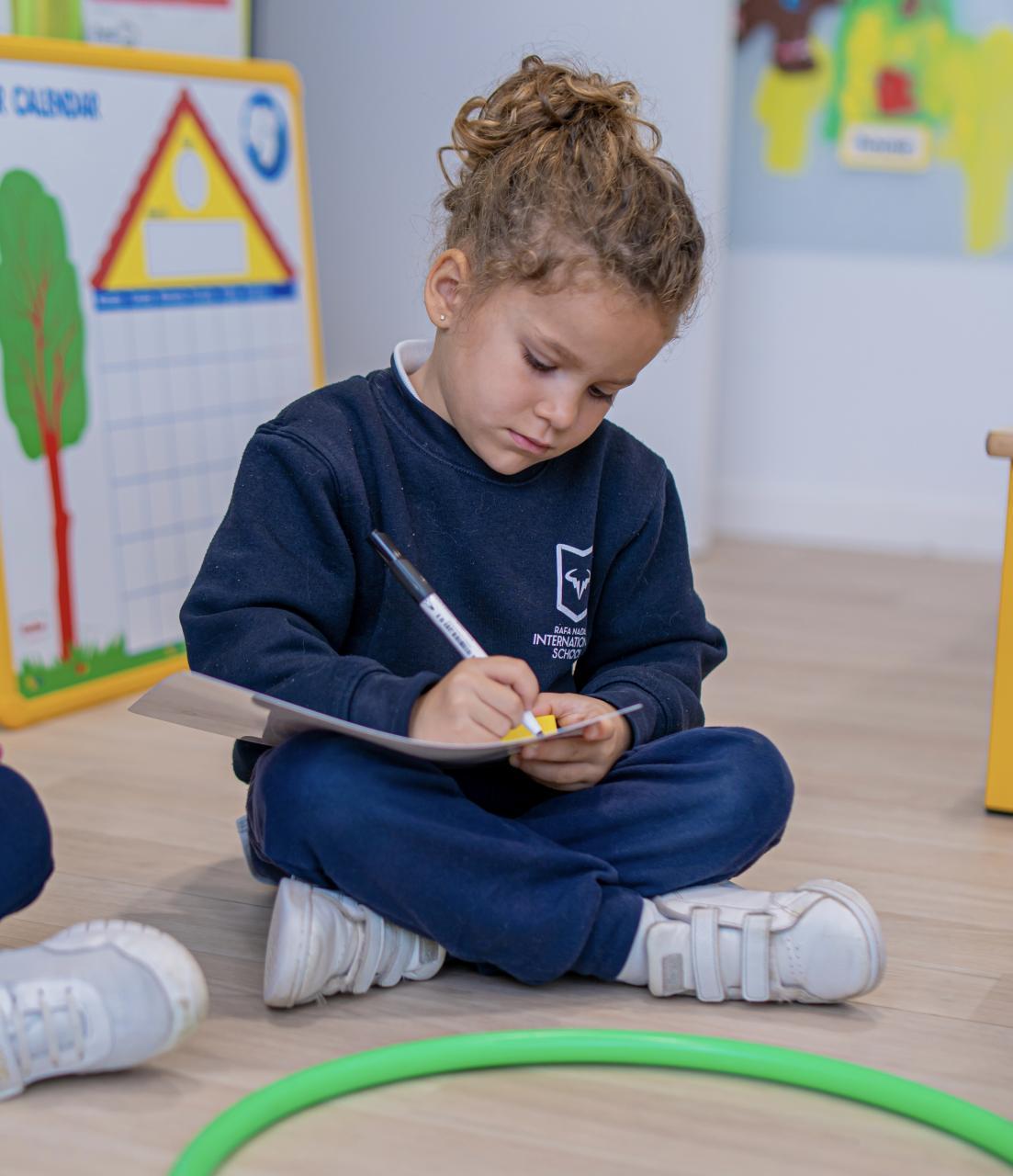 Rafa Nadal International School interactive learning