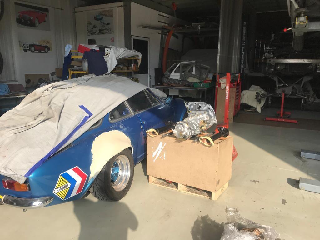 Renault Alpine getting ready for action