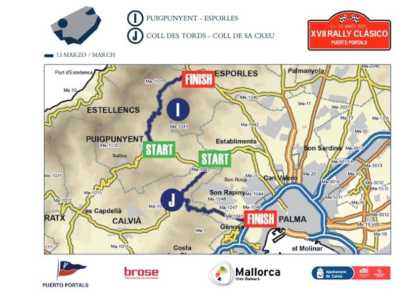 Stage 3, Rally Clásico 2021, Mallorca.