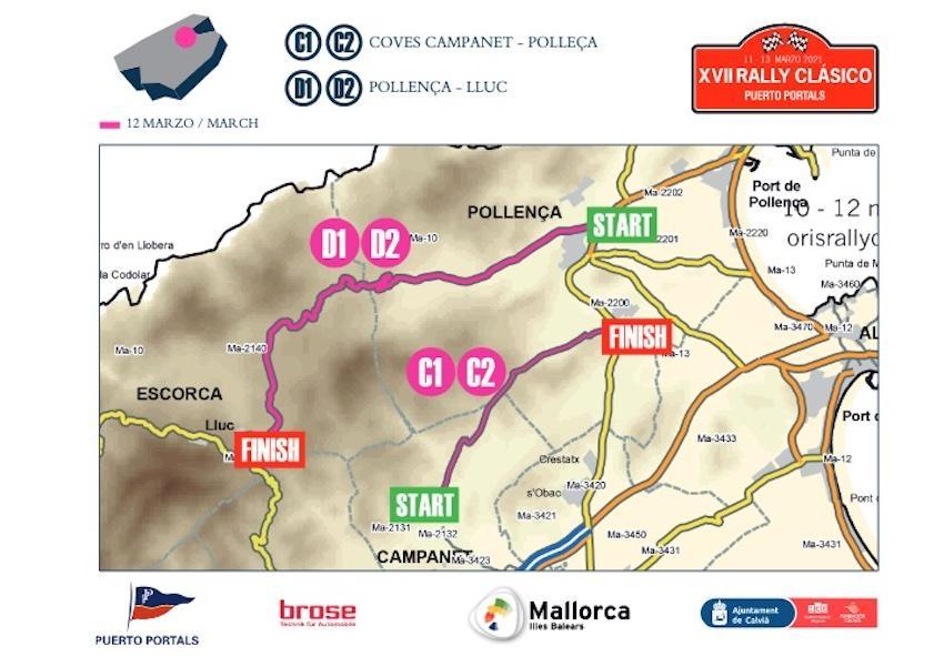 Stage 2, Rally Clásico 2021, Mallorca.