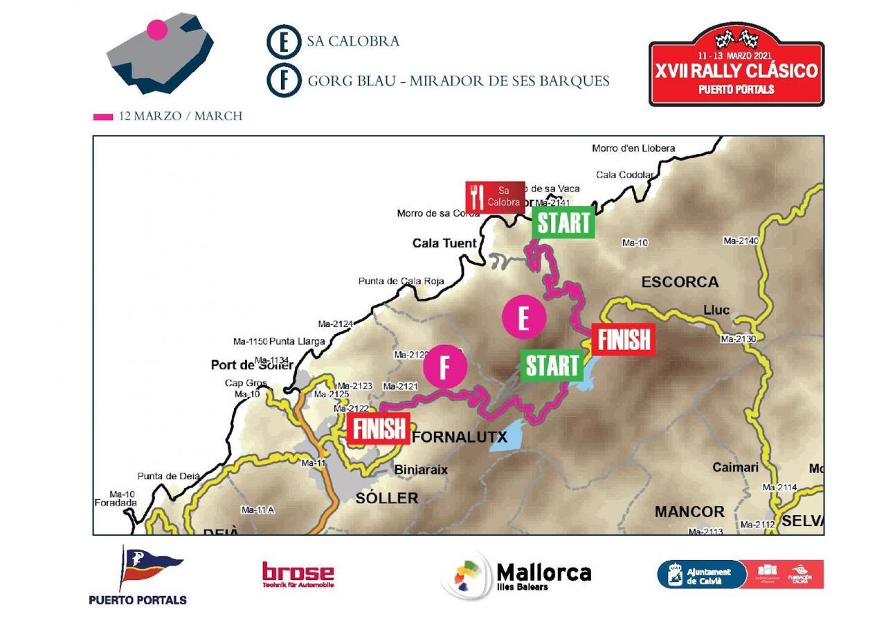 Rally Clásico: Sa Calobra & George Blau-Mirador de Ses Barques, Mallorca.
