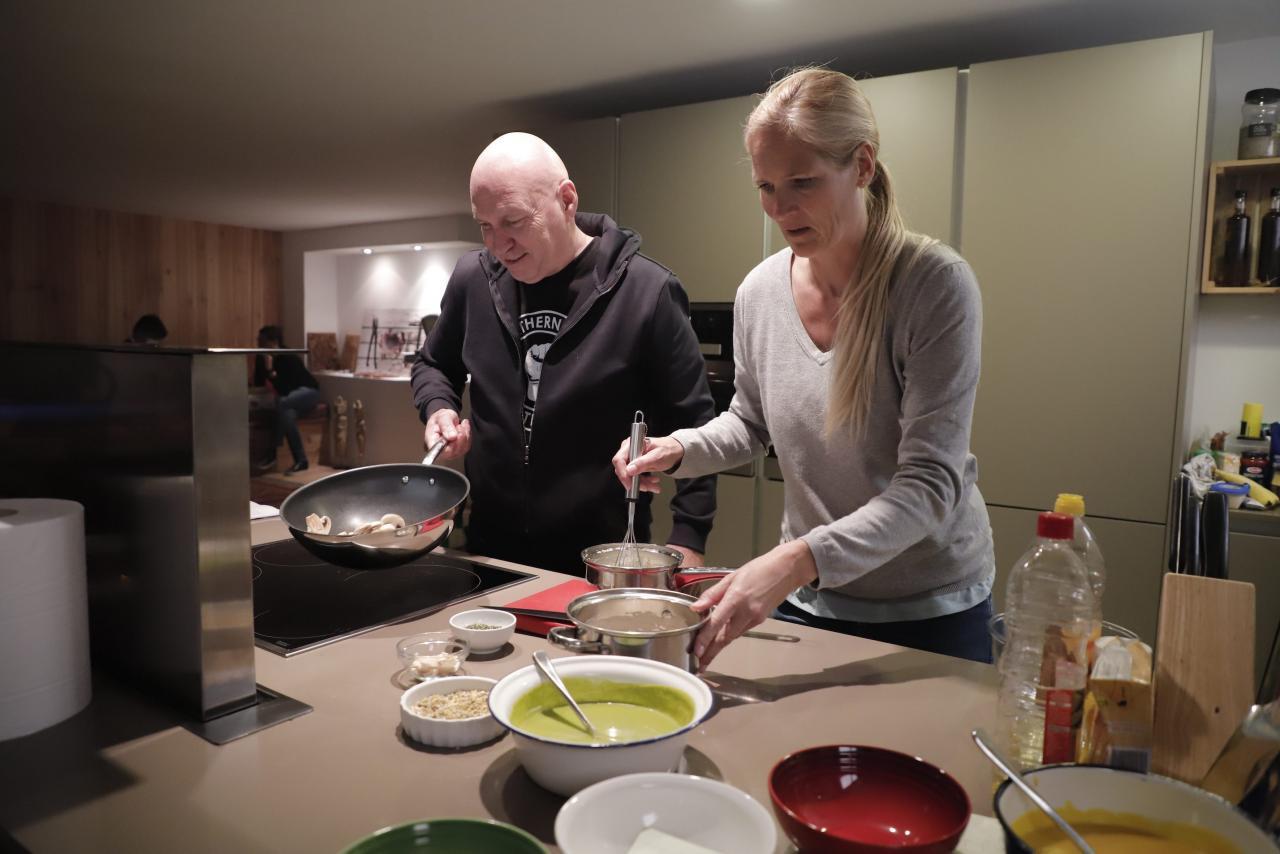 Marc Fosh and wife Iris.